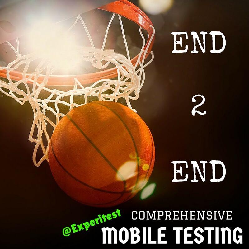 mobile QA testing tools