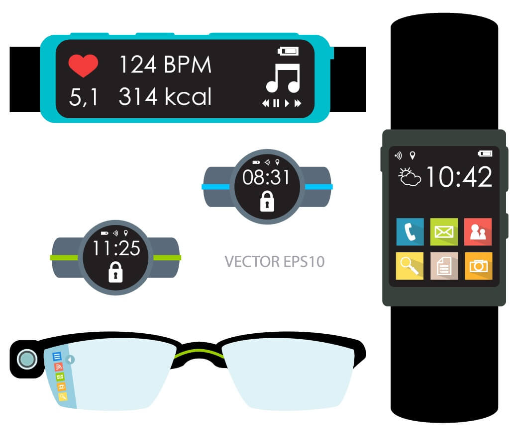 smartphone vs wearable mobile applications